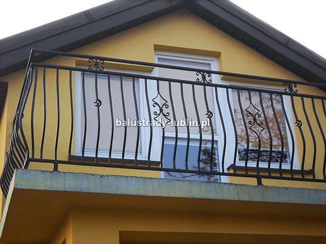 Balustrada balkonowa ozdobna 19